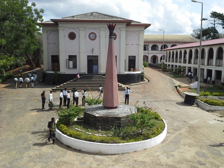 Classrooms and Assembly Hall in Mfantsipim School
